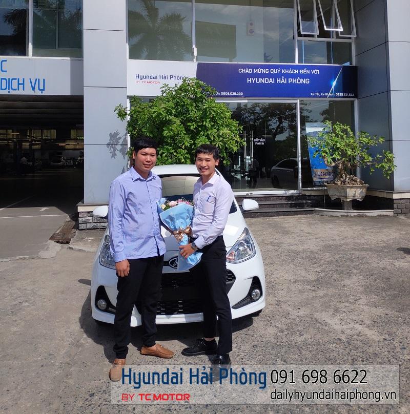 Giao xe I10 Hyundai Hải Phòng